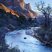 Sunset On The Watchman Poster