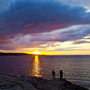 Sunset Over Canso Bay Poster