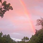 Sunset Rainbow Poster