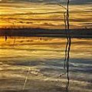 Sunset Riverlands West Alton Mo Dsc03317 Poster