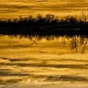 Sunset Riverlands West Alton Mo Sepia Tone Dsc03319 Poster