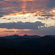 Sunset Rmnp Poster