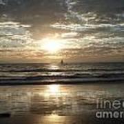 Sunset Sail Poster