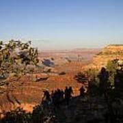 Sunset Vigil Grand Canyon Poster