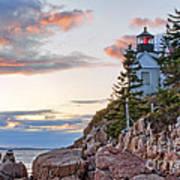 Sunset Watcher - Bass Harbor Head - Maine Poster