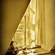 Sunshine Through The Window Poster