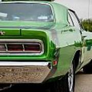 Super Bee In Green Poster
