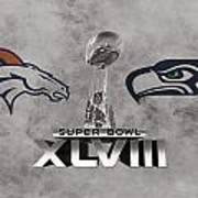 Super Bowl Xlvlll Poster