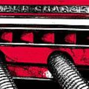 Super-charged Duesenberg Poster