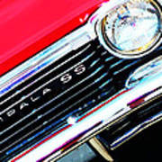 Super Sport 2 - Chevy Impala Classic Car Poster