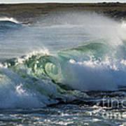 Super Wave At The Barents Sea Coast Poster