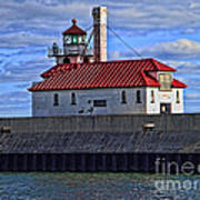 Superior And Duluth Harbor Lighthouse Poster