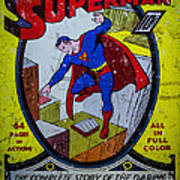 Superman Poster by Mitch Shindelbower