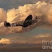 Supermarine Spitfire Mk Lfix  Poster