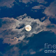 Supermoon Poster by Robert Bales