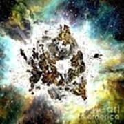 Supernova Poster by Bernard MICHEL