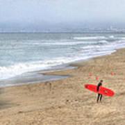 Surfer Boy Poster