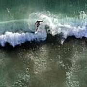 Surfer From The Sky Poster