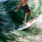Surfin` Poster