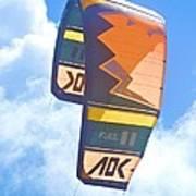 Surfing Kite Poster