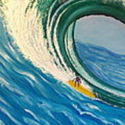 Surfing the Gigantic Wave  Poster