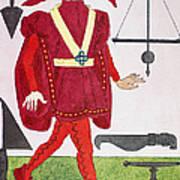 Surgeon, 14th Century Poster