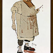 Surgeon: Caricature, 1906 Poster