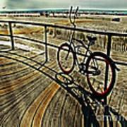 Surreal Boardwalk  Poster