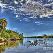 Surreal Intracoastal View Poster