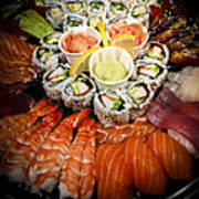 Sushi Tray Poster
