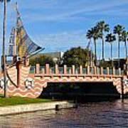 Swan And Dolphin Resort Bridge Poster