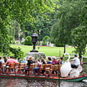 Swan Boat - Boston Poster