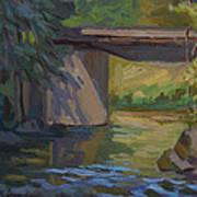Swauk Creek Early Spring Poster