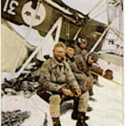 Swedish Aviator Lundborg, Who Poster