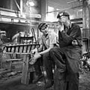 Swedish Foundry Workers Poster