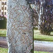 Swedish Runestone Poster