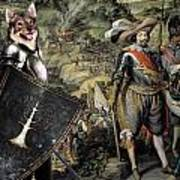 Swedish Vallhund  - Vastgotaspets Art Canvas Print Poster