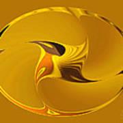 Sweet Golden Spinner Poster