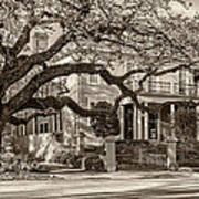 Sweet Home New Orleans 2 Sepia Poster