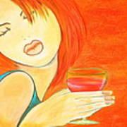 Sweet Tarte Poster by Debi Starr
