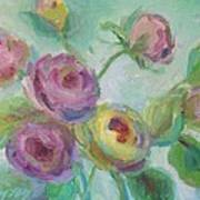 Sweetness Floral Painting Poster