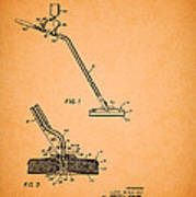 Swimming Pool Cleaning Device Patent Poster