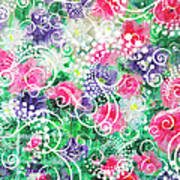 Swirl Dots By Jan Marvin Poster