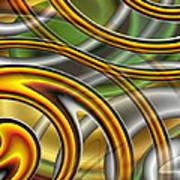 Swirl On Swirl On Swirl On Swirl Poster