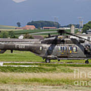 Swiss Air Force Eurocopter Cougar Poster