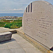 Swissair Flight 111 Of 1998 Memorial In Whalesback-ns Poster