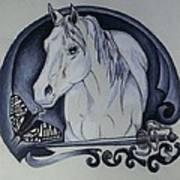 Sword And Horse Poster