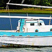 Swordfish Boat Pano Poster