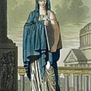 Sybil, Illustration From Lantique Rome Poster