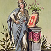 Sybil Of Cumae, No. 16 From Antique Poster